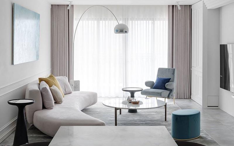 Gallotti&Radice案例:台北100㎡豪宅打造优雅轻奢的现代住所