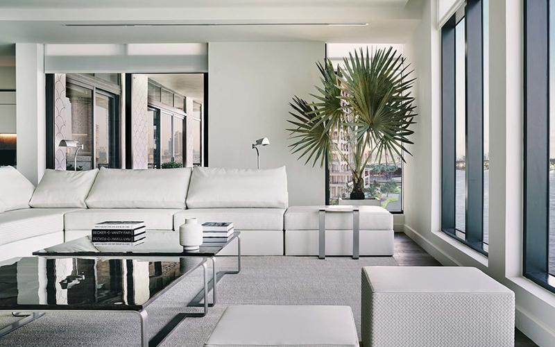Bottega Veneta案例:迈阿密豪宅460㎡大平层居家空间!